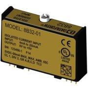 8B32 - Module conditionnement de signal d'entrée courant, bande passante 3 Hz