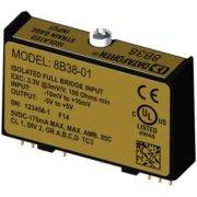 8B38 - Module conditionnement jauge de contrainte, 3Hz et 8KHz de bande passante