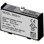 8B39 - Module conditionnement sortie courant, bande passante 100Hz