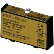 8B51 - Module conditionnement tension, 20KHz de bande passante