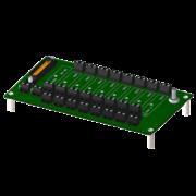 8BP08 - Fond de Panier 8 emplacements pour modules 8B
