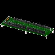 8BP16 - Fond de Panier 16 emplacements pour modules 8B