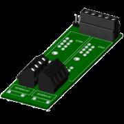 SCMPB04 - Panneau arrière à 2 canaux, pas de kit de montage inclus