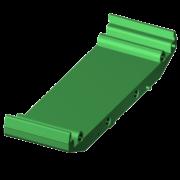 SCMXBE - Elément de base rail DIN sans pied de pression