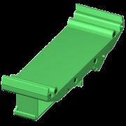 SCMXBEFE - Elément de base rail DIN avec pied de pression